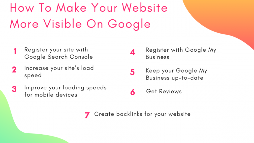 How To Make Your Website More Visible On Google