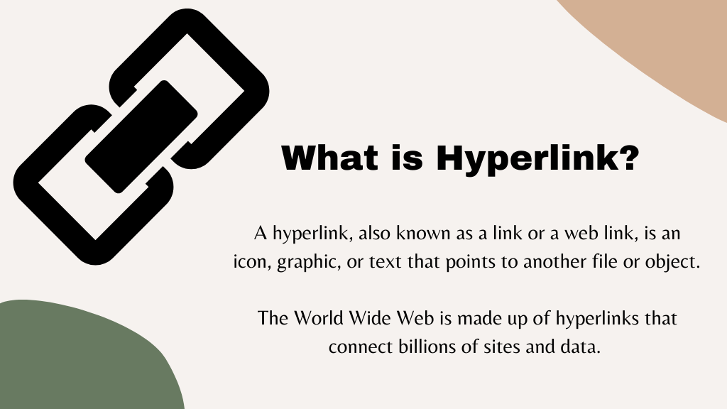 What is Hyperlink