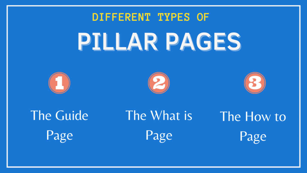 Different Types of Pillar Pages