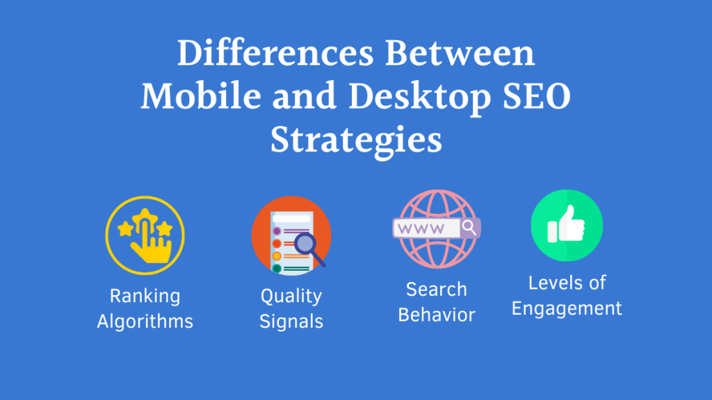 Differences Between Mobile and Desktop SEO Strategies