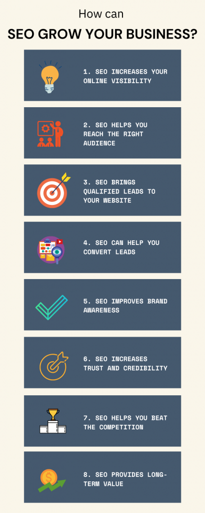 How can SEO grow your business
