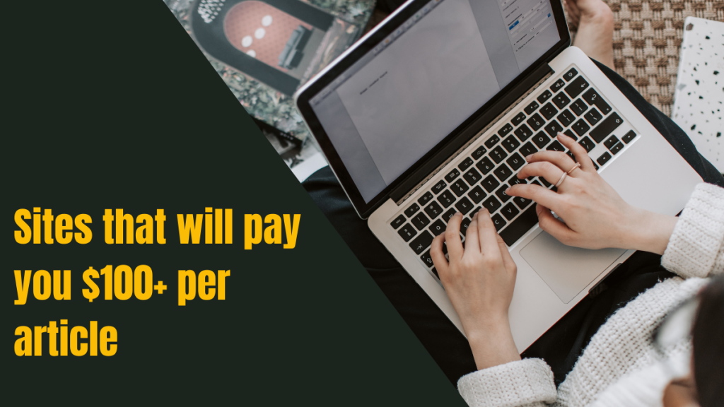 sites that will pay you